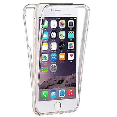Für iPhone 8 Plus iPhone 7 iPhone 7 Plus iPhone 6 iPhone 6 Plus Hüllen Cover Transparent Handyhülle für das ganze Handy Hülle Volltonfarbe