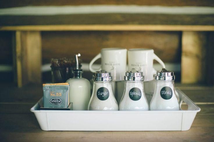 Organized Coffee Tray