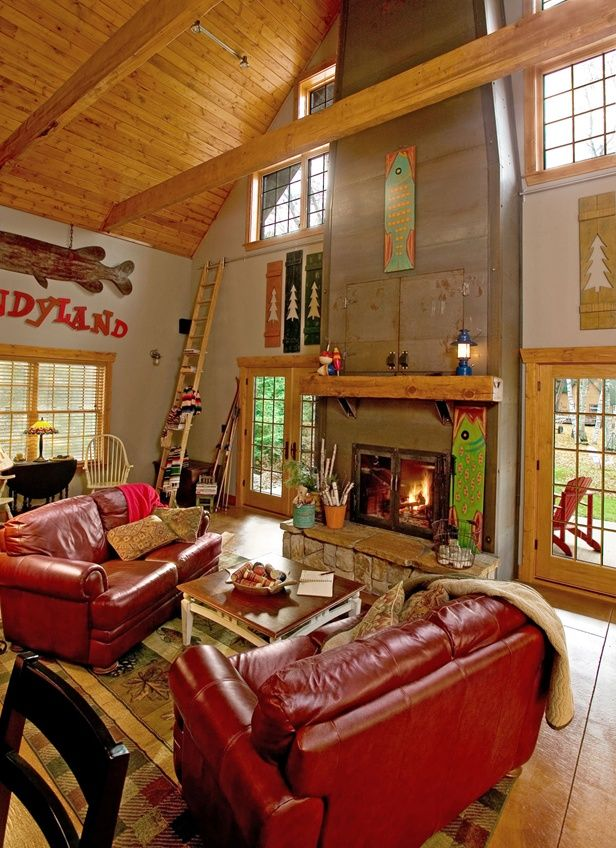 17 Best Images About Cabin Interior Design Decor On Pinterest Log