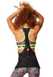 USE COUPON CODE: CARMENBFIT for 10% off Zumba.com. Dance Is Mesh Tank (available in 5 colors)
