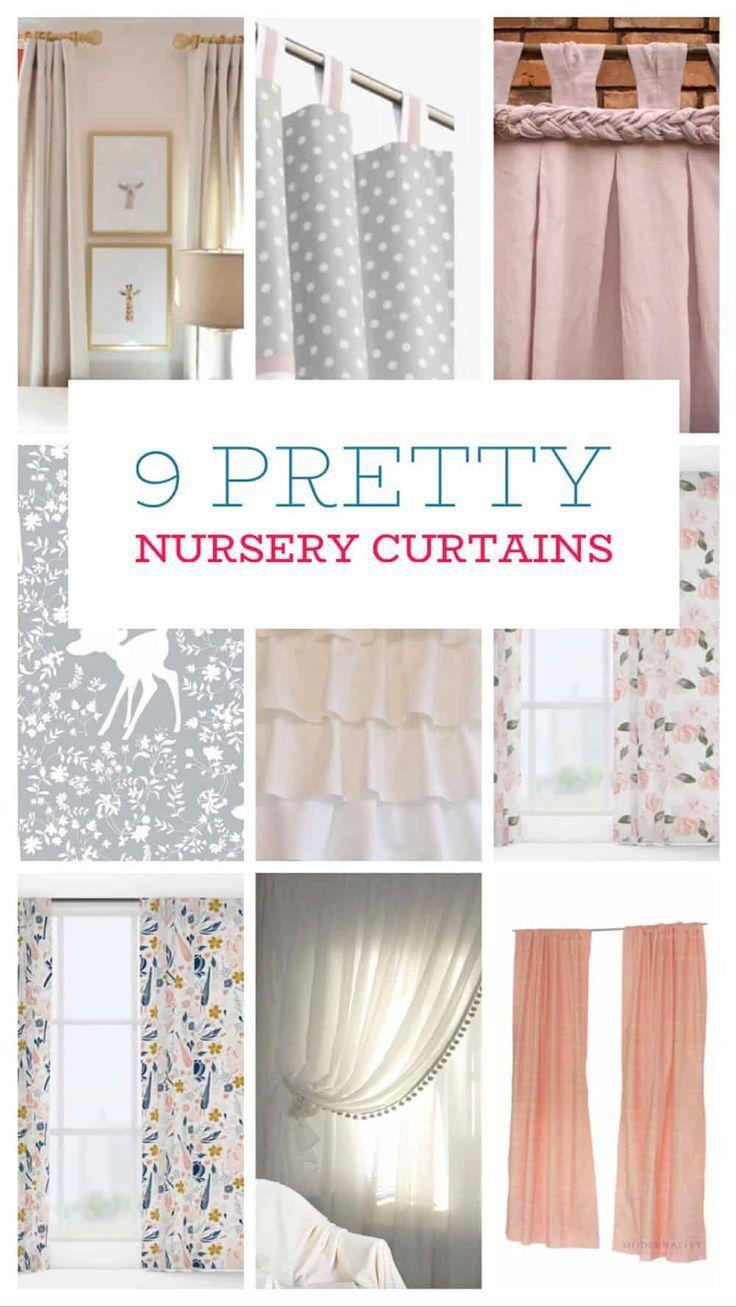 Spotlight On The 9 Cutest Nursery Curtains Home Beautifully Baby Room Curtains Nursery Curtains Nursery Curtains Girl