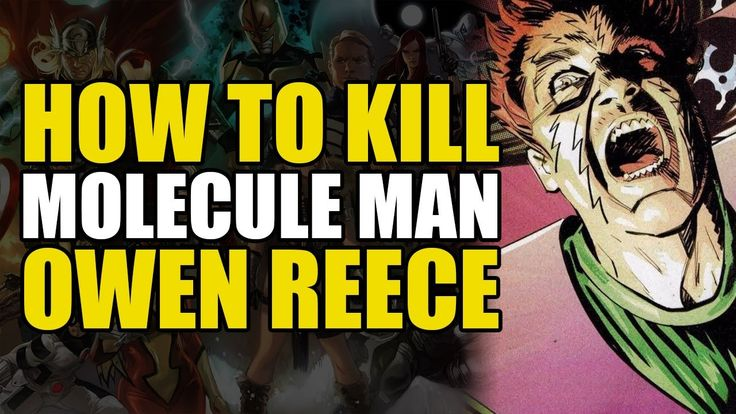 How To Kill Molecule Man/The Beyonder (How To Kill Superheroes)
