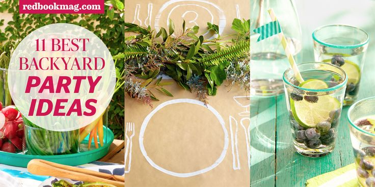 Summer Backyard Party Ideas :  arts & crafts on Pinterest  Outdoor parties, Backyards and Blankets