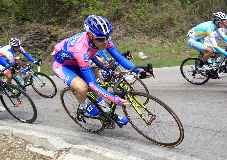 Damiano Cunego on the 2nd stage in Giro del Trentino. © Photo Bettini