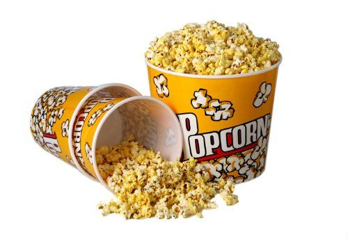 Enjoy your next movie night at home in style with our authentic, cinema style popcorn tub.