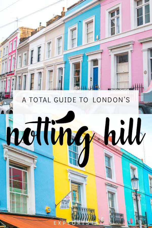 Best Things to Do in Notting Hill: A Guide to London's Prettiest Neighborhood