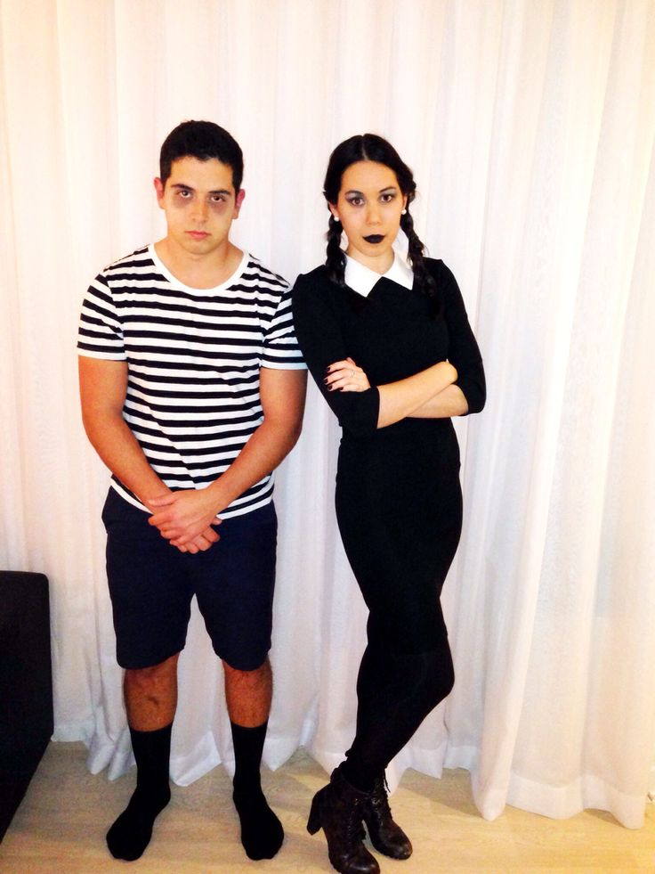 Wednesday snd Pugsley Addams