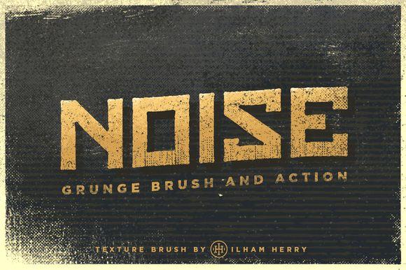 I just released Noise Grunge Brush on Creative Market.