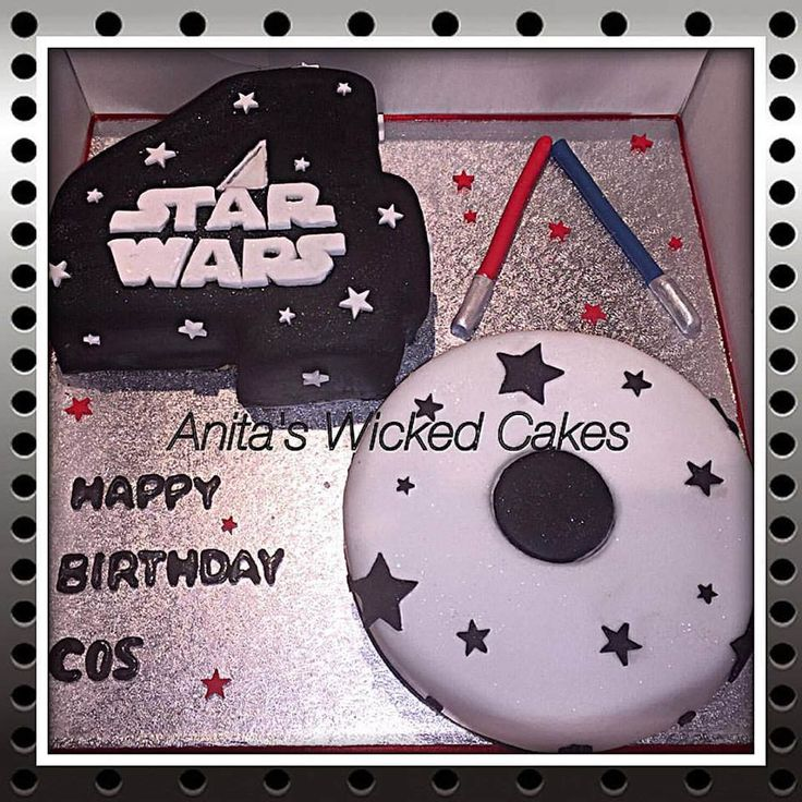 https://flic.kr/p/EdnUbe | 12803076_10205704664763369_8031476758672982154_n | Star Wars cake