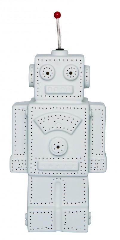 Salt & Pepper Robot Schemerlamp 36cm Wit