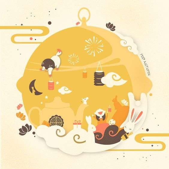 MID AUTUMN FESTIVAL on Behance: