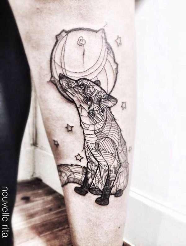 zorro tatuaje
