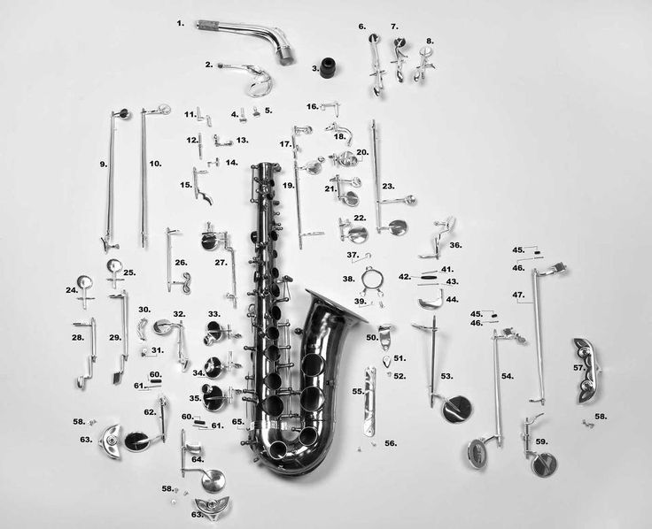 one thing i dont miss about playing the sax: trying to figure out what is broken. so many pieces!