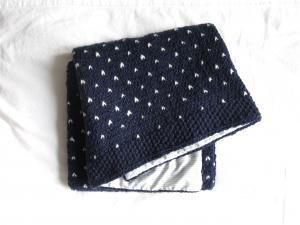 Couverture pour bébé au tricot • Hellocoton.fr
