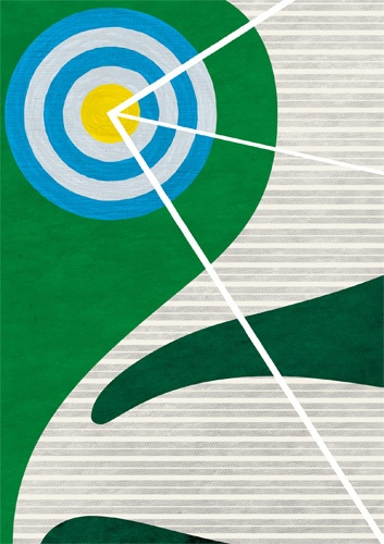 Poster series with focus on numbers 2007, Yasuhiro Kawano