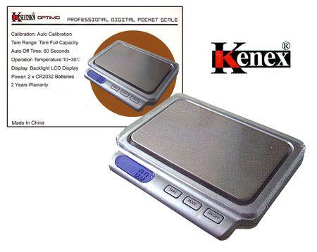 Báscula digital Kenex MX 400g 0.1    Esta Báscula fabricada por Kenex es perfecta para pesar articulos que requieren la maxima precision.    La básculas Kenex son modelos de balanzas electrónicas muy económicos, lo cual no significa que no sean balanzas de calidad.    · Capacidad máxima de pesado: 400g    · Precisión: 0.1g (centésimas de gramo)    · Modos de pesaje: gramos (g), onzas (oz), quilates (ct), y (gn)    · Sistema de autocalibración