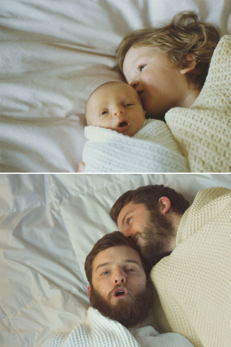 Two Brothers Re-Create Childhood Photos As A Priceless Gift To Their Mother | DeMilked