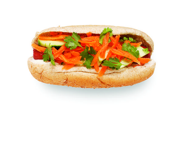 Banh Mi Hot Dog (Carrots and Limes) | Diabetic Recipes | Pinterest ...
