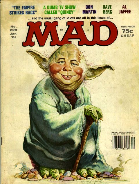 This is my birth month/year Mad Magazine.