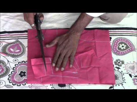 Perfect Blouse Making Tutorial Step by Step - Part 1 (Cutting) - YouTube