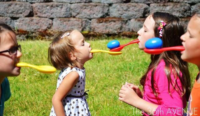 ailece açık hava oyunları (1) | Evimin Altın Topu