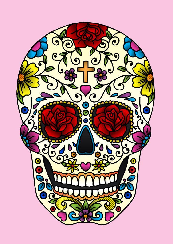 Sugar Skull by Jade Boylan - http://www.jadeboylan.com/