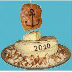 Торт-парусник