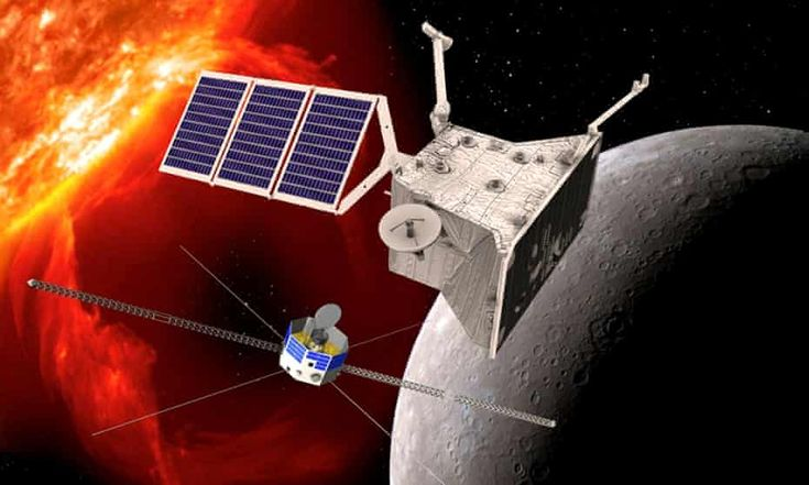 messenger spacecraft to mercury 2009 picture - 735×441