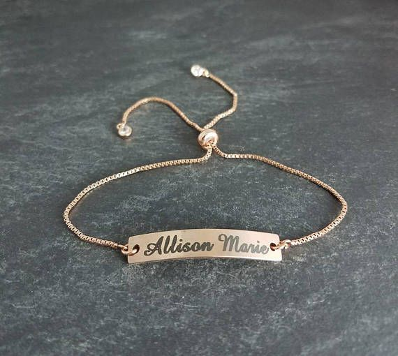 Hey, I found this really awesome Etsy listing at https://www.etsy.com/listing/520494932/name-bracelet-rose-gold-jewelry