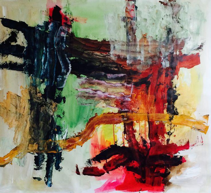 Kell Jarner. Akryl på lærred, 145 x 130 cm, 2015