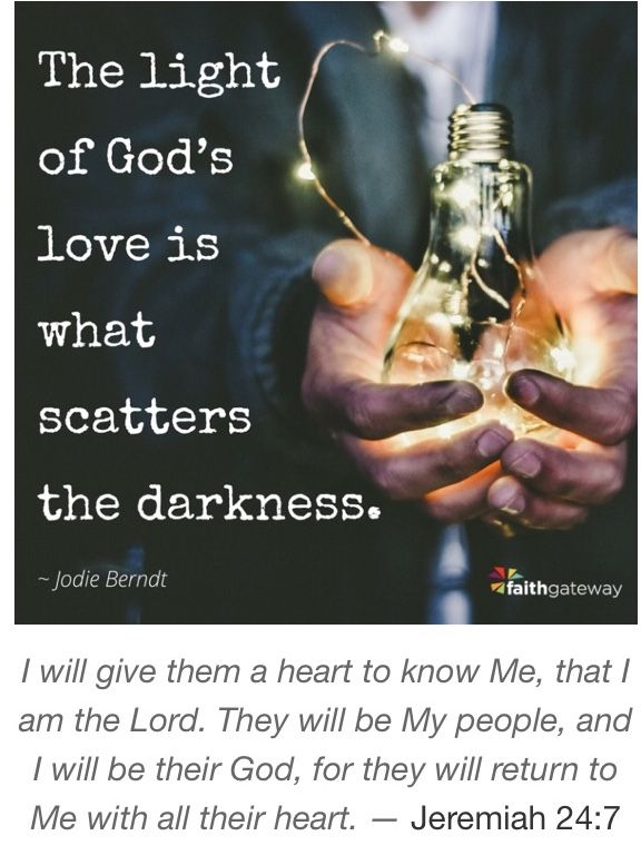 The lord is the light and my salvation!! Amen to believing