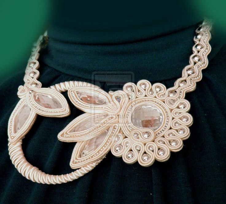 deviantART: More Like soutache handmaid jewelry by ~caricatalia