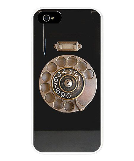 Simply fantastic. :: Black Rotary Phone Case for iPhone 5 I'd probably need an iPhone first...