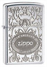 ZIPPO WINDPROOF AMERICAN CLASSIC DESIGN LIGHTER 24751 by Zippo. $26.30. This is a brand new Flip-Top windproof Zippo fluid lighter. It comes in the original Zippo lighter case with the orange security label on the back of the lighter. Also, comes with Zippo's lifetime warranty. The model number of this lighter is 24751 Zippo American Clas. This American Classic lighter retails for 2.95. This Zippo lighter will make a great gift to millions of users and collectors. All...