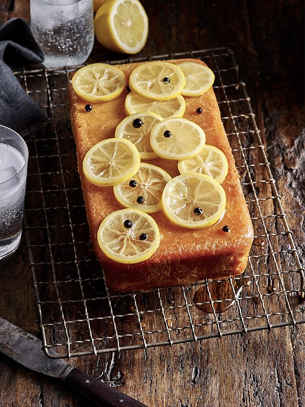 Double lemon, gin and tonic cake: This double lemon, gin and tonic cake combines two of our favourite things. It's easy to make and sure to please a crowd - a new way to enjoy your G&T