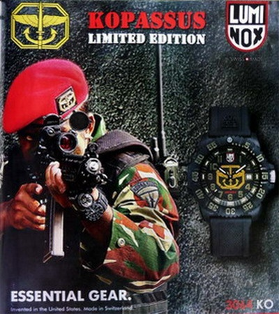 Luminox Kopassus edition.