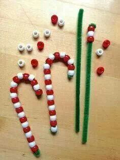 DIY reuseable candy canes