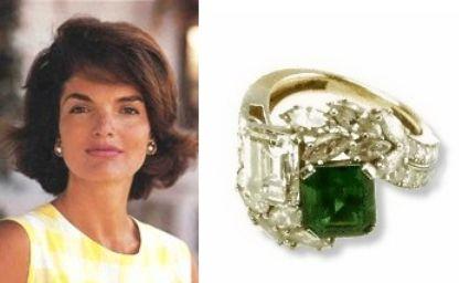Jacqueline Kennedy recebeu um dos anéis de noivado mais glamourosos da história