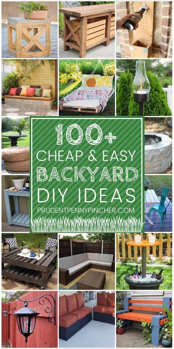 100 Cheap And Easy Diy Backyard Ideas Easy Backyard Diy Backyard Diy Projects Diy Backyard