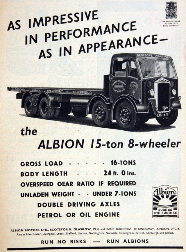 1938 Albion GG