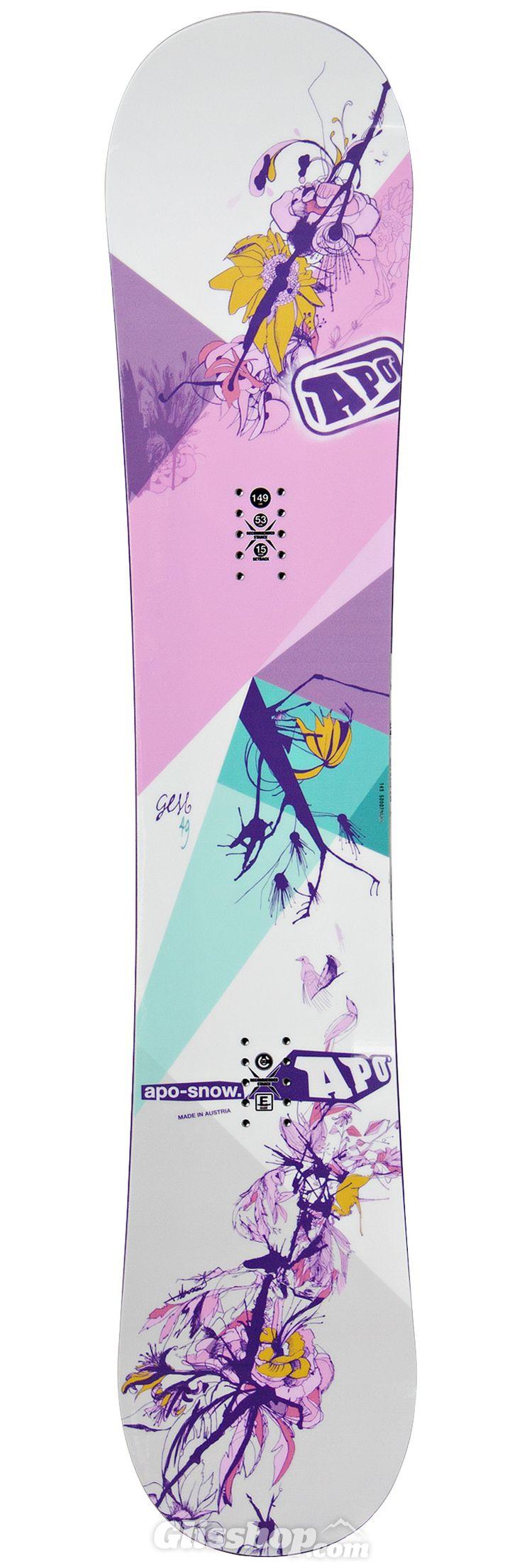 Planche snowboard Apo Gem dessus 2016