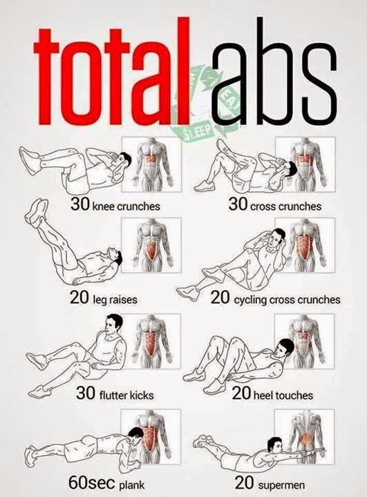 Total abs Workout - Fitness - YOURTBOX