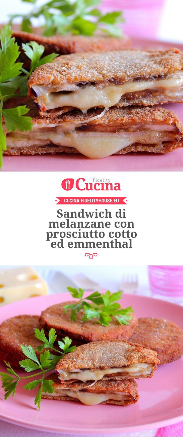 Sandwich di #melanzane con #prosciutto cotto ed #emmenthal della nostra utente Giovanna. Unisciti alla nostra Community ed invia le tue ricette!