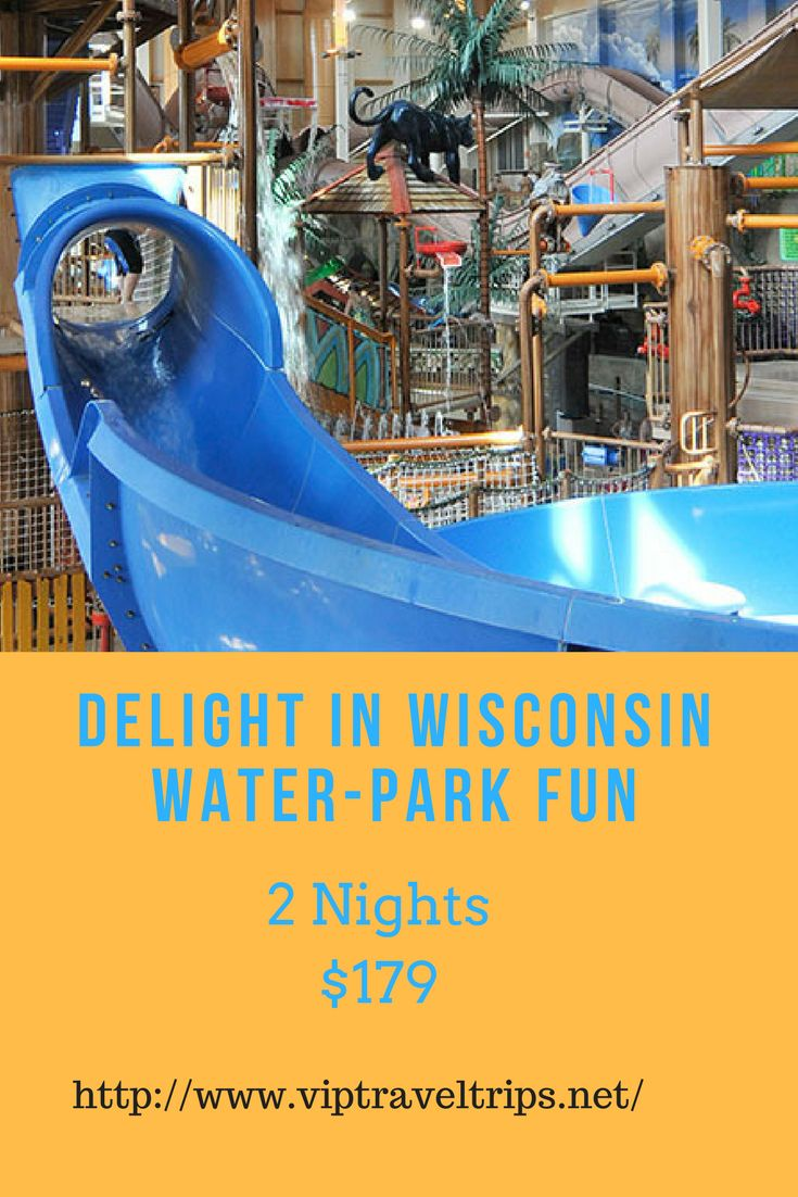 Head to Wisconsin Dells on this water-filled DreamTrip for a chance to splash around the 80,000-square-foot (7,432-square-meter), multilevel Lost Rios indoor water park. Go wild in Mount Montezuma's giant rain forest, float the Rio Rapids Action River or test your speed with the Matador Mat Racers. There's also plenty of fun on land in the mega-arcade, Pesos O Plenty. Leave the everyday behind and retreat to Wisconsin Dells and its Chula Vista Resort & Waterpark for an action-packed vacation…
