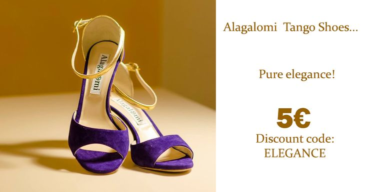 Until 23 April discounts on Alagalomi, the most elegant made-in-Italy tango shoes! http://www.italiantangoshoes.com/shop/en/8_alagalomi