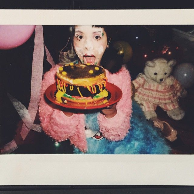 """""""Thank you guys for coming to my party!""""  Cry Baby - Melanie Martinez The debut album is a siren call for help. A slightly more sinister take on baby doll esque artistry - Marina & The Diamonds meets American Horror Story! #crybaby"""