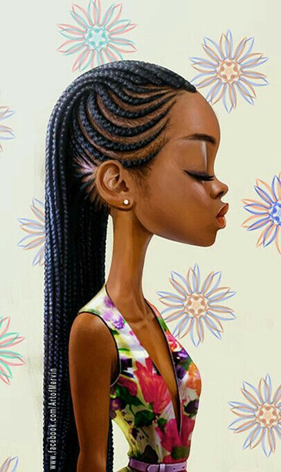 Absolutely love this picture... such beautiful, unique & modern artwork from #ArtofMervin ❤ Happy Monday  #artist #beauty #beautytalk #scotswana