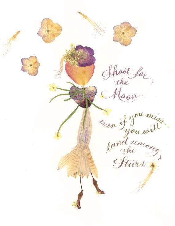 SHOOT for the MOON by InFlower on Etsy, $2.95
