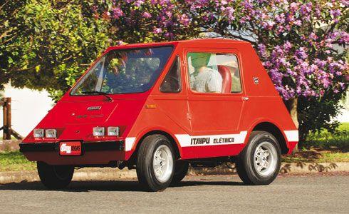 Brazil's 1st electric car - 1975 GURGEL ITAIPU
