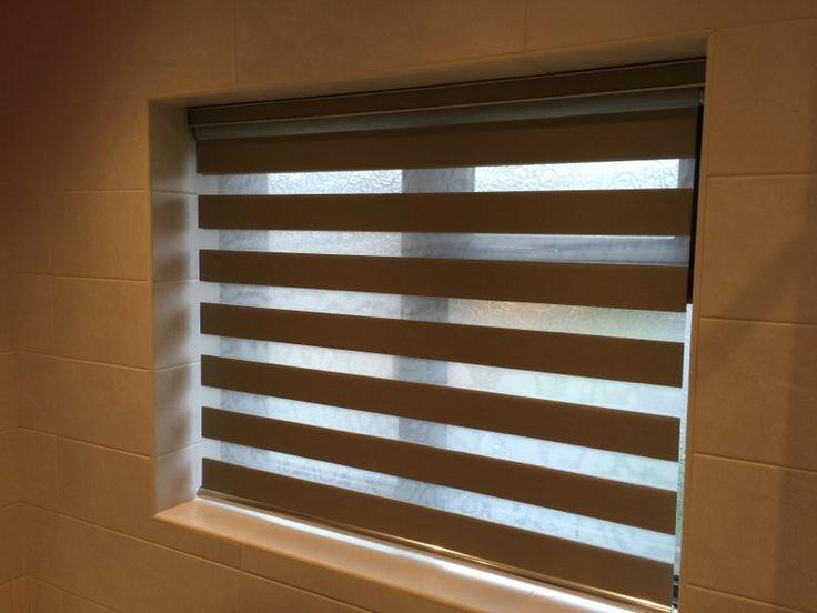 Vision blind for a new bathroom, Stafford.  http://blindsstafford.co.uk